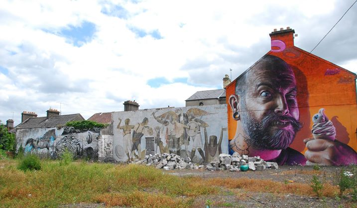 Street art, Limerick, Ireland