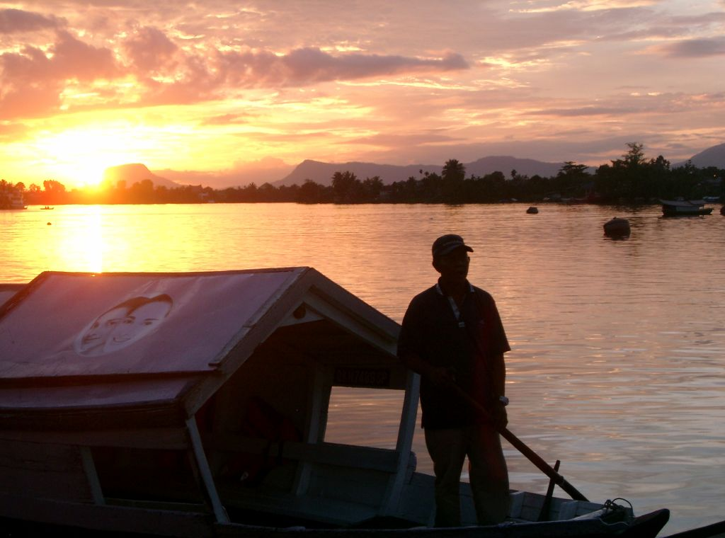 Sunset, Kuching, Borneo