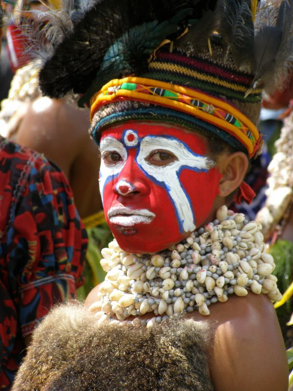 Mt Hagen Show 1. Photo by Lee Mylne